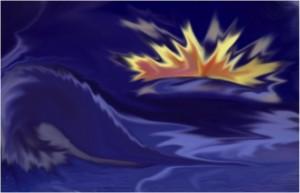 Biagioli Nikla – Esplosione sul mare
