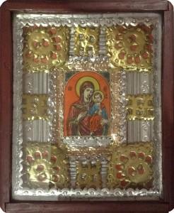 Anonimo – Icona in oro ed argento