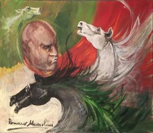 Romano Mussolini – Cavalli di patria