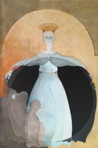 Marina Carboni – Madonna della misericordia (Omaggio a Piero Della Francesca)