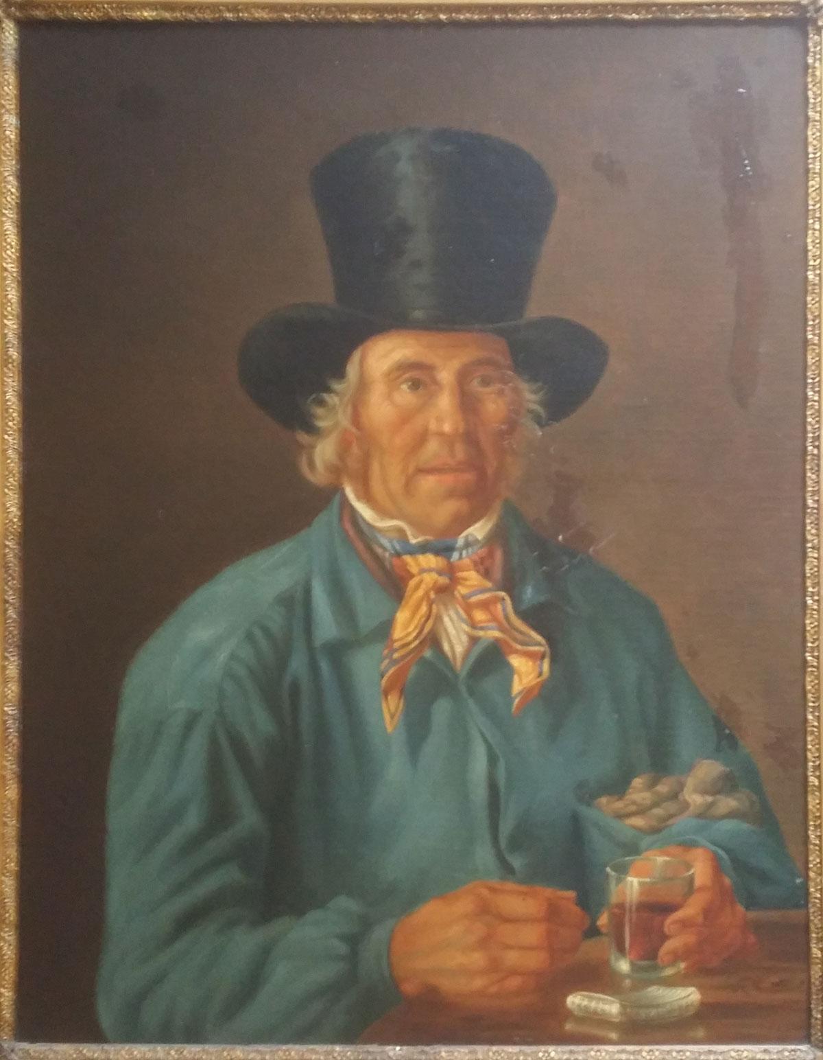 Jean François Portaels – Ritratto di uomo