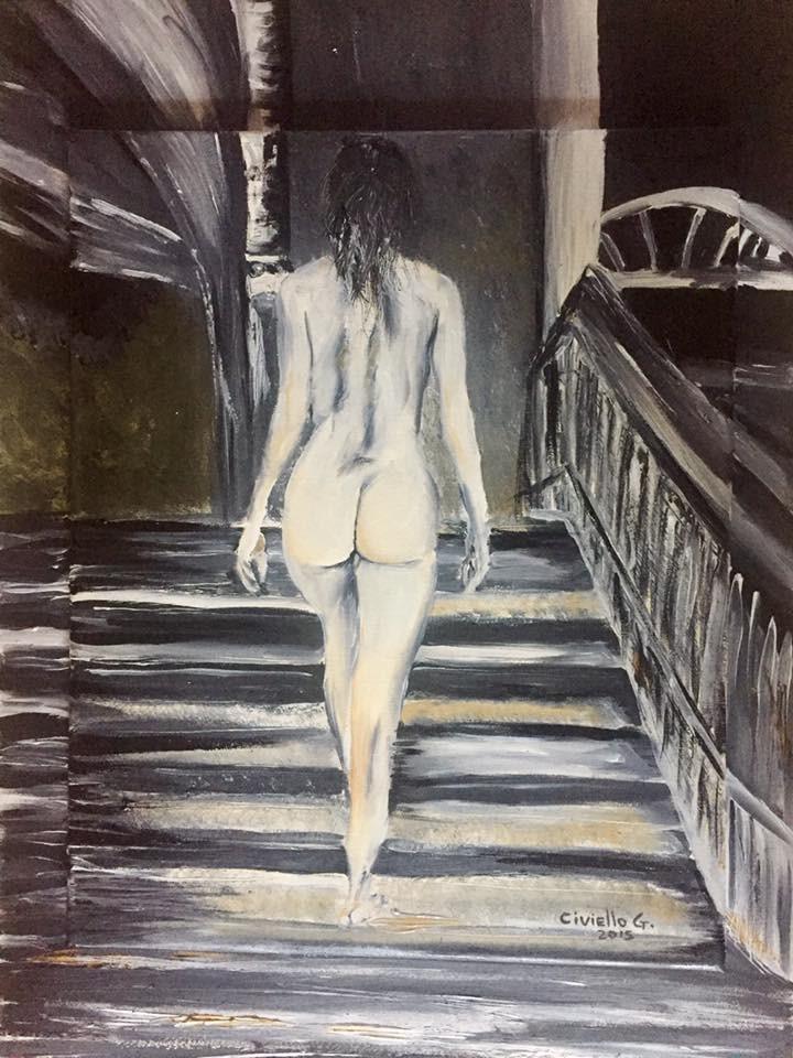 Giuseppe Civiello – Modella sulle scale