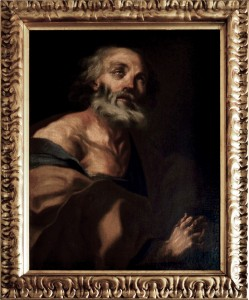 Bernardo Monsù – San Pietro pentito