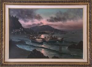 Mario Galanti – Marina al tramonto