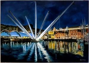EVMiglio – Notturno porto antico di Genova