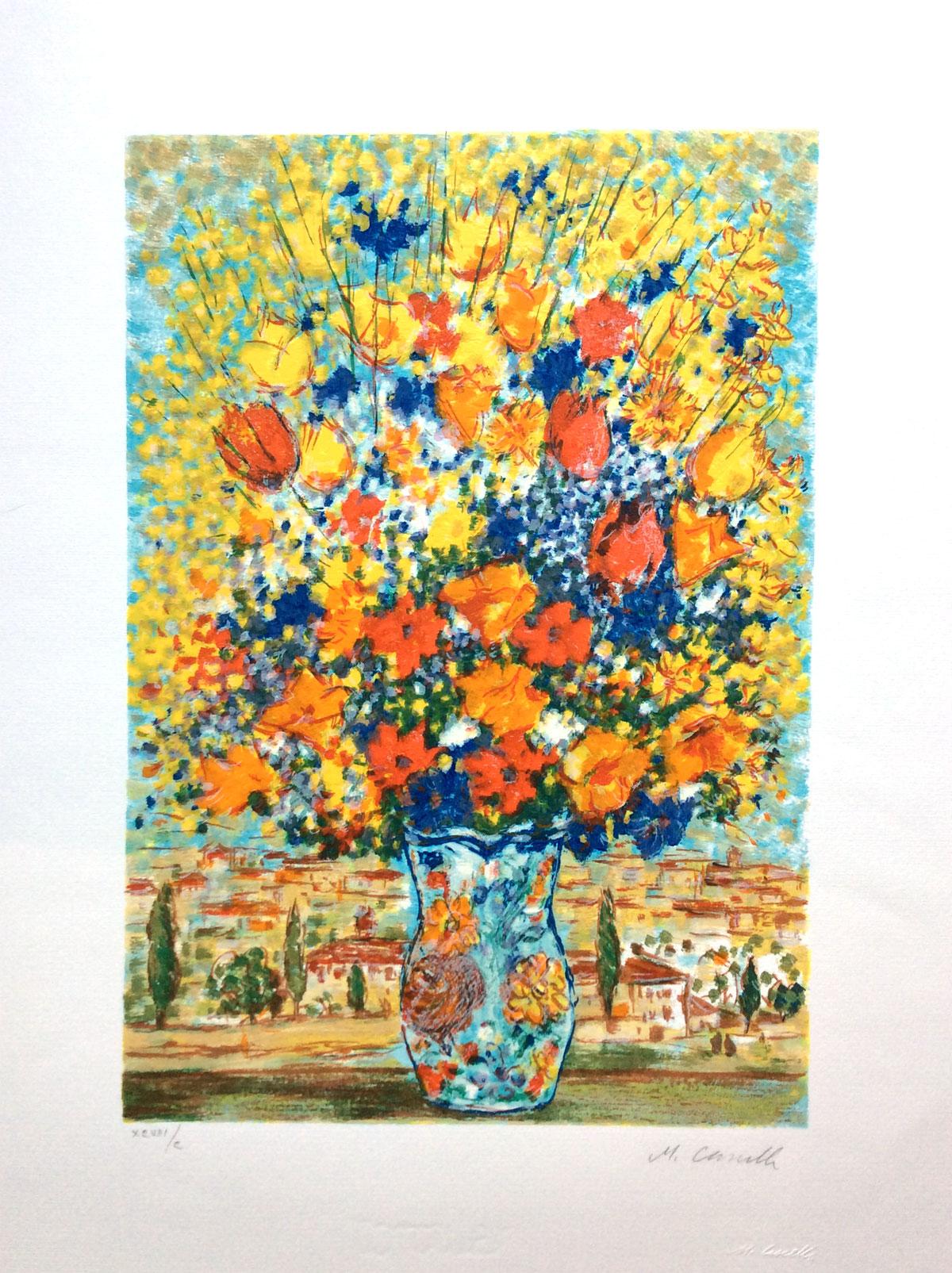 Michele Cascella - Vaso di fiori - VENDERE QUADRI