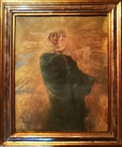 Giacomo Campi – Madonna con sole raggiante e bimbo