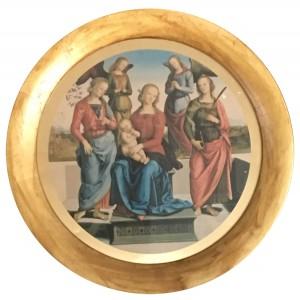 Madonna in trono con bambino, due sante e due angeli – FMR ART'E'