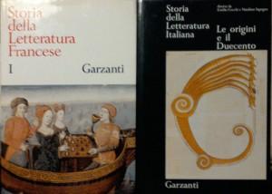 Storia della Letteratura Italiana – Garzanti
