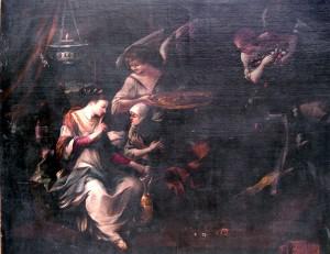 Pietro Testa (detto il Lucchesino) – Allegoria cristiana