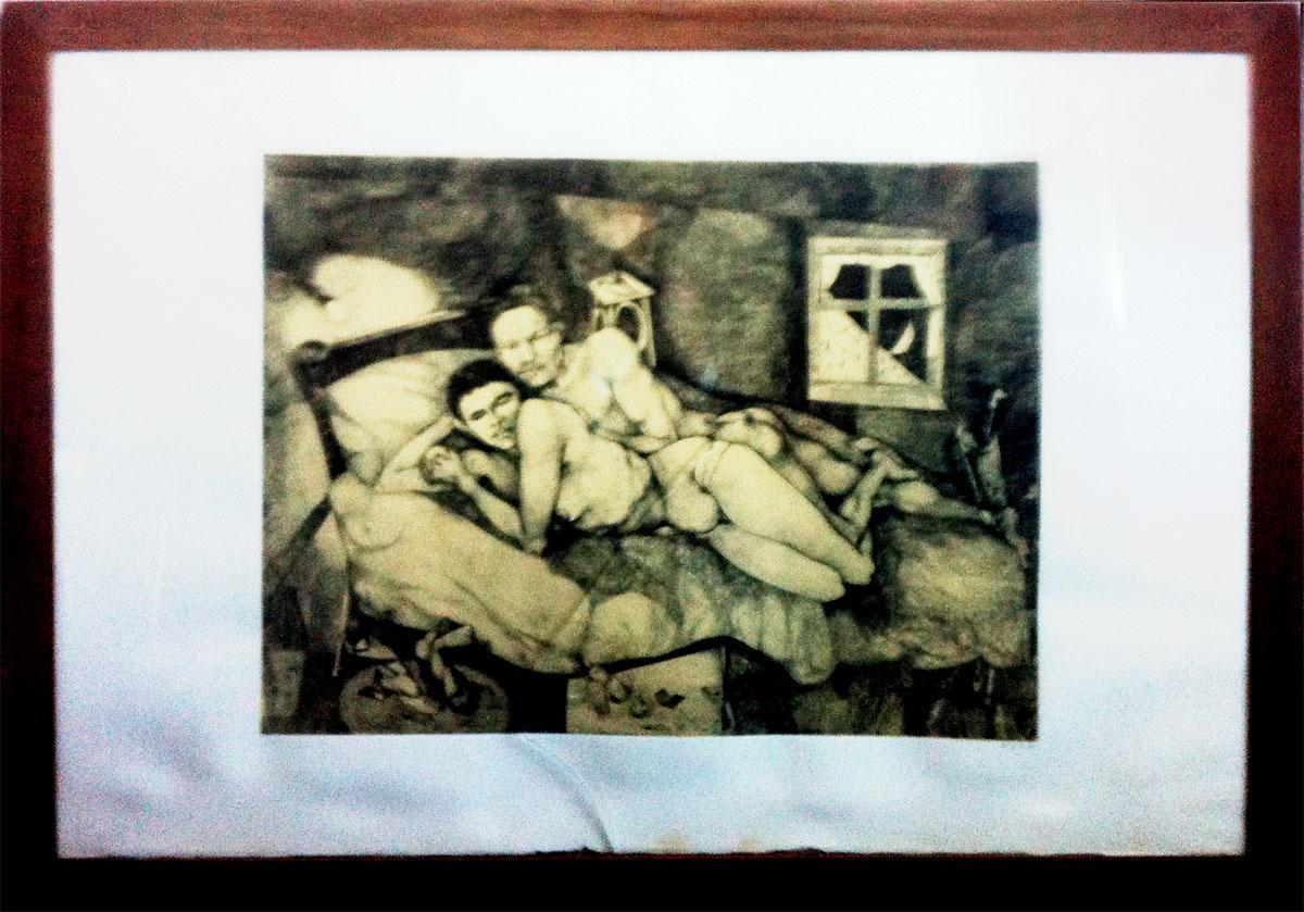 Ugo Attardi – Senza titolo