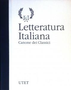 Letteratura italiana – UTET