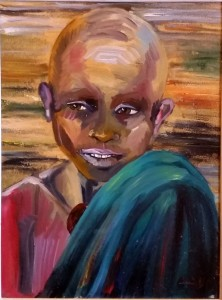 Claudia Caudai – Ritratto di bambino