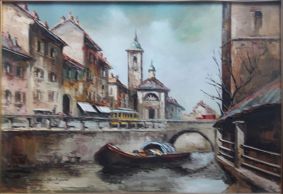 Eugenio Mantegani – Vecchio naviglio