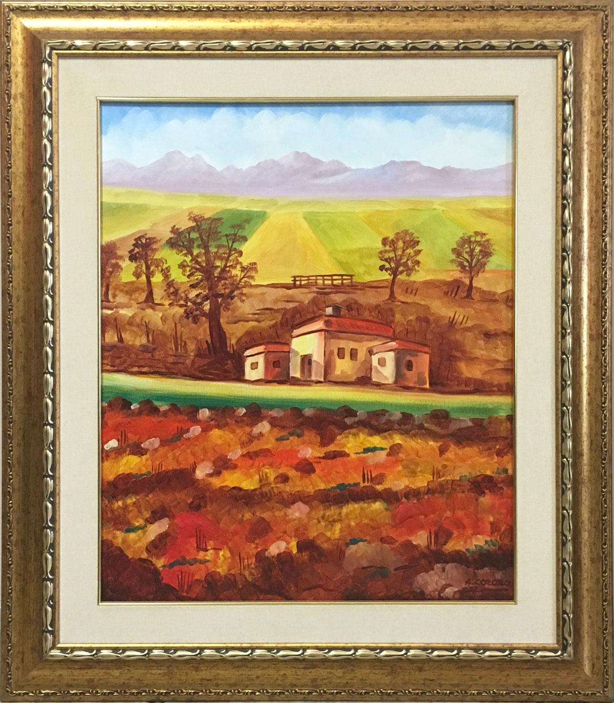 Armando Corona – Tramonto sulla valle