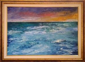 Paolo Rocchi – Mare al tramonto