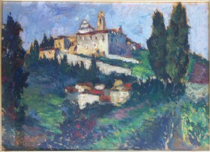 Luigi Calamandrei – La certosa di Firenze