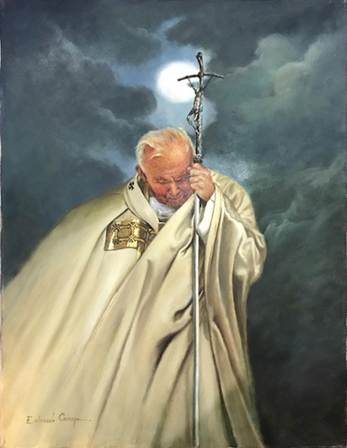 Edoardo Cerrone – Giovanni Paolo II