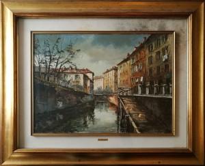 Eugenio Mantegani – Il naviglio grande