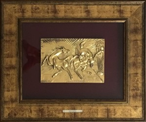 Aligi Sassu – Cavalli del Sole