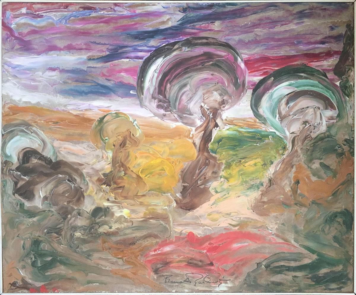 Renato Ravinetti – Paesaggio n° 9
