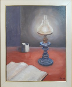Ennio Gianola – Natura morta lampada