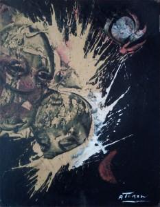 Angelo Turin – Composizione Astratta