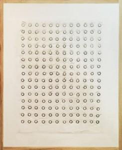 Roberto Leonardo Amadori – 180 dadi su muro bianco