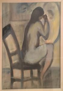 A. Perazzini – Donna allo specchio