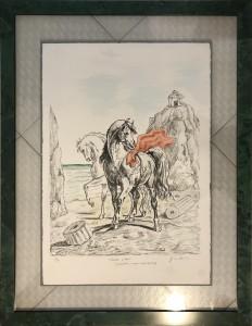 Giorgio de Chirico – Cavalli Antichi