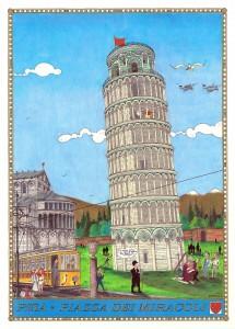 Davide Berrettini – Pisa, Piazza dei Miracoli