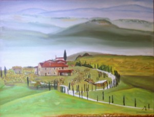 Meoni Emilio – Campagna Toscana