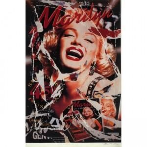 Mimmo Rotella – Omaggio a Marilyn