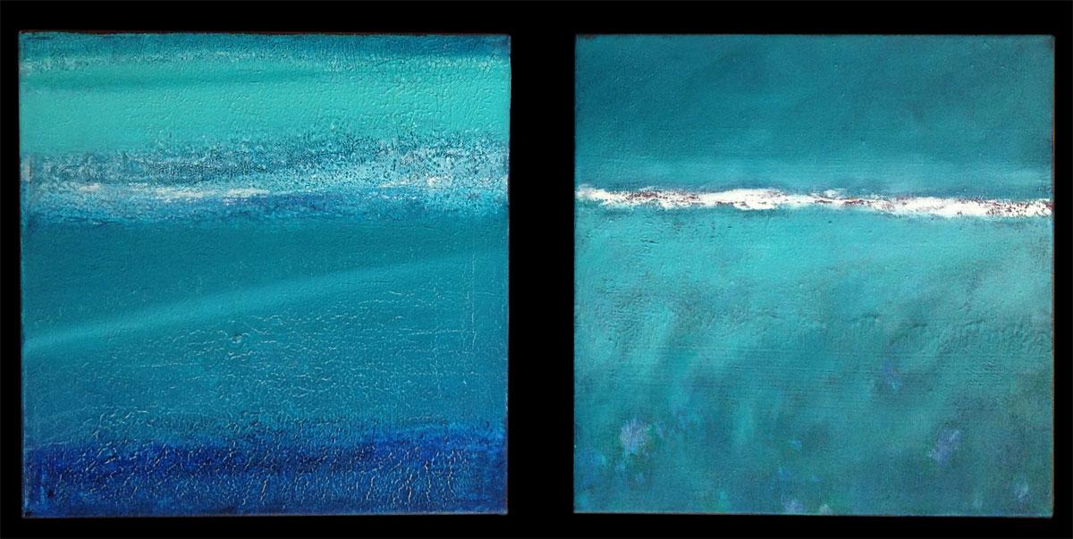 Giuliana Donati – Paesaggio blu