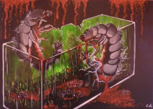 Mirabela Ioana Cadar – Due Predatori nell'acquario