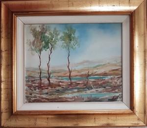 Giuseppe Ligauto – Alberi nel Paesaggio