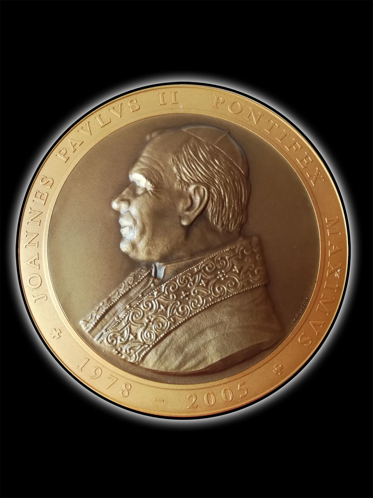 Bassorilievo – Papa Giovanni Paolo II