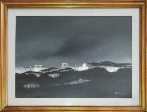 Vittorio Postiglione – Paesaggio Notturno