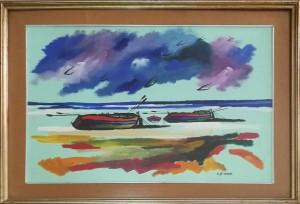 Leone – Barche su Spiaggia