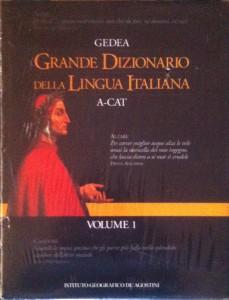 Grande Dizionario della Lingua Italiana – De Agostini