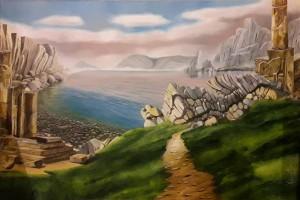 Valerio Marra – Mare con Rovine