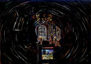 Roberto Denti – Milano verso l'Expo e gli spazi quantistici