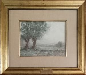 Attilio Pratella – Paesaggio Primaverile