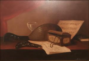 Evaristo Baschenis – Mandolino