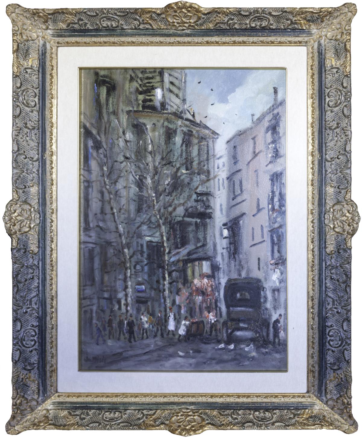 Filippo de pisis veduta di parigi vendere quadri for Quadri di parigi