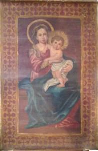 Artista sconosciuto – Madonna con bambino