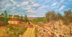 Salvatore Anastasi – Paesaggio rurale