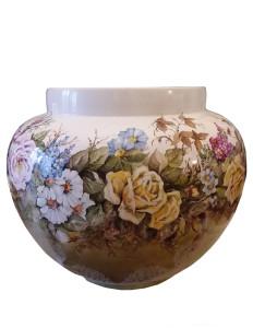 Franca Brandino – Vaso dipinto a mano