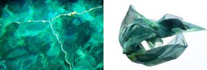 Danilo Susi – Dittico verde smeraldo