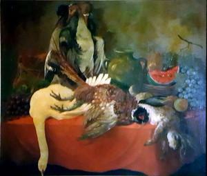 Salvatore Miglietta – Natura morta fagiano